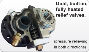 image of Dual Built-in Heated Relief Valves